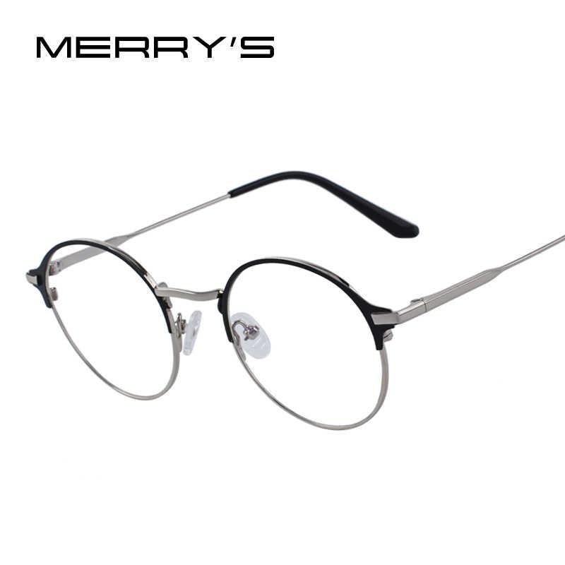 08d8f19e16 MERRYS DESIGN Women Fashion Glasses Retro Oval Optical Frames Eyeglasses  S2086