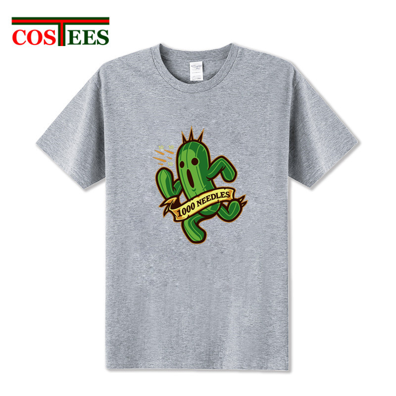 Funny 1000 Needles Tonberry T Shirt men 2018 pickle rick T-shirt adult fashion cactus Tee New casual ricka and morty tshirt boys