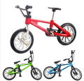 2pcs/lot Excellent Quality Fuctional Alloy mini Finger Mountain Bikes Bicycle Boy Toy Creative Game Gift