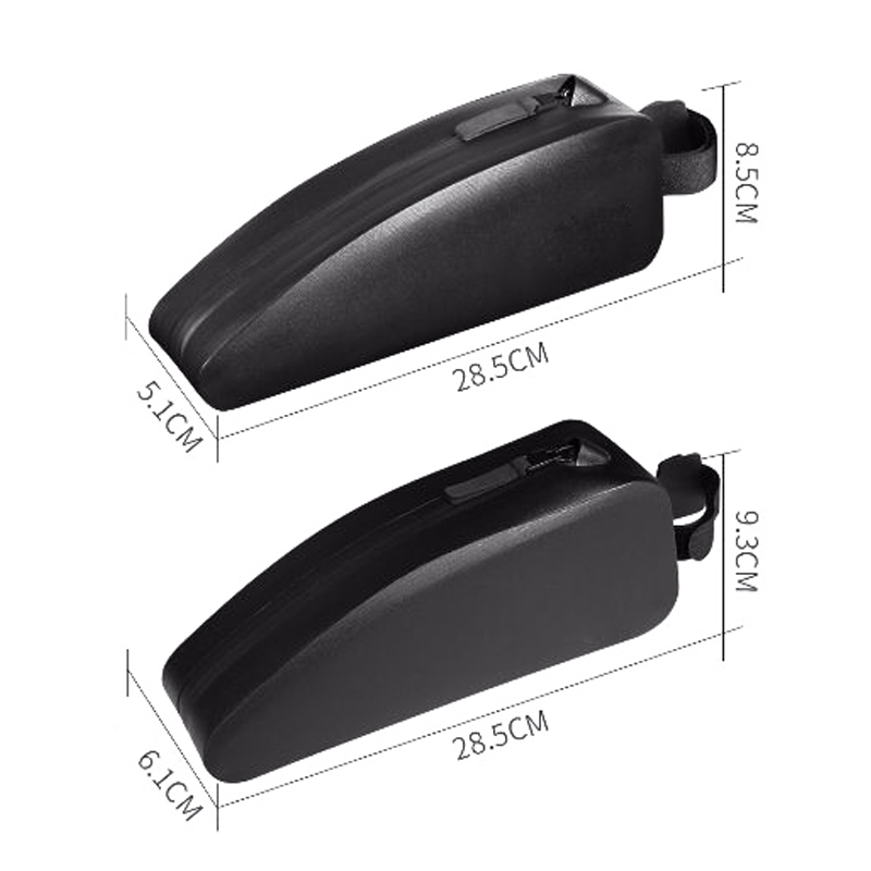 Waterproof Bike Bag Cycling Top Front Tube Frame Bags for Bicycle Black Pannier MTB Road Bike Accessories in Bicycle Bags Panniers from Sports Entertainment