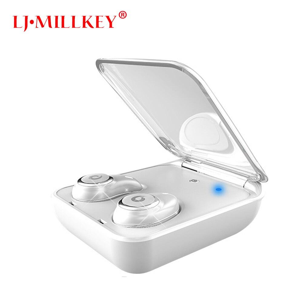 TWS Bluetooth casques véritable sans fil écouteurs Mini in-ear aimant chargeur boîte métal musique Sport téléphone mains libres HD MIC YZ148