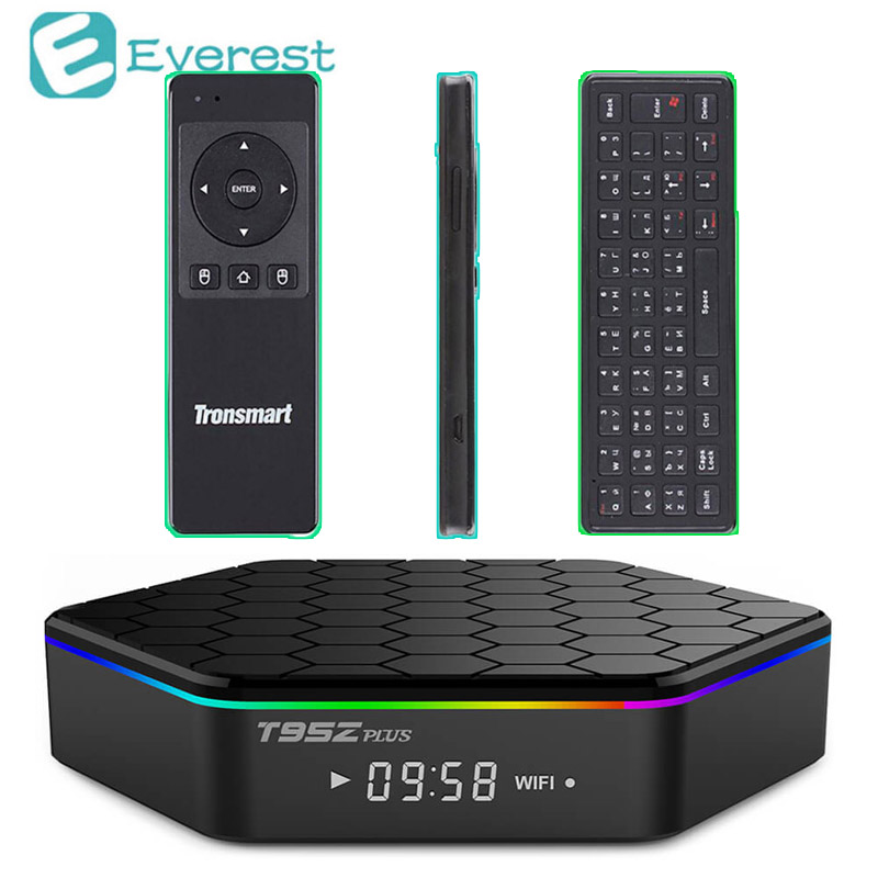 T95z Plus 2GB 16GB Mini PC Amlogic S912 Android 6.0 Smart TV Box Octa core Kodi Dual band WiF BT4.0 4K H.265 Set-Top Box zidoo x6 pro android 5 1 lollipop octa core tv box rk3368 2gb 16gb 1000m lan dual band wif bt4 0 4k 2k h 265 kodi 3d