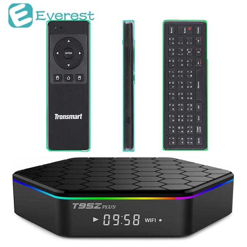 T95z Plus Smart TV Box 2GB 16GB Mini PC Amlogic S912 Android 6.0 Octa core Kodi Dual band WiF BT4.0 4K smart tv Set-Top Box zidoo x6 pro mini pc android 5 1 tv box rk3368 octa core 2gb 16gb gigabit ethernet hdmi 4k kodi 16 0 aluminium eurpean iptv box