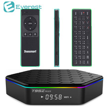 T95z плюс Smart TV Box 2 ГБ 16 ГБ Mini PC Amlogic S912 Android 6.0 Octa core Коди Dual Band WIF BT4.0 4 К Smart TV телеприставки