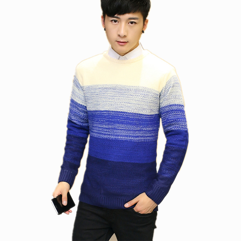 Wool Sweater Clothing Pullover O-Neck Knitted Cashmere Autumn Winter Men Quality New-Arrivals