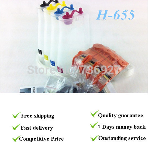 5 COLOR  With permanent chips, Retail Packaging,Empty CISS suit for Hp655, suit for HP3525  4615  4625  5525  6520  6525 compatible ciss for hp655 hp 655 for hp deskjet 4615 4625 3525 5525 with ink level chip