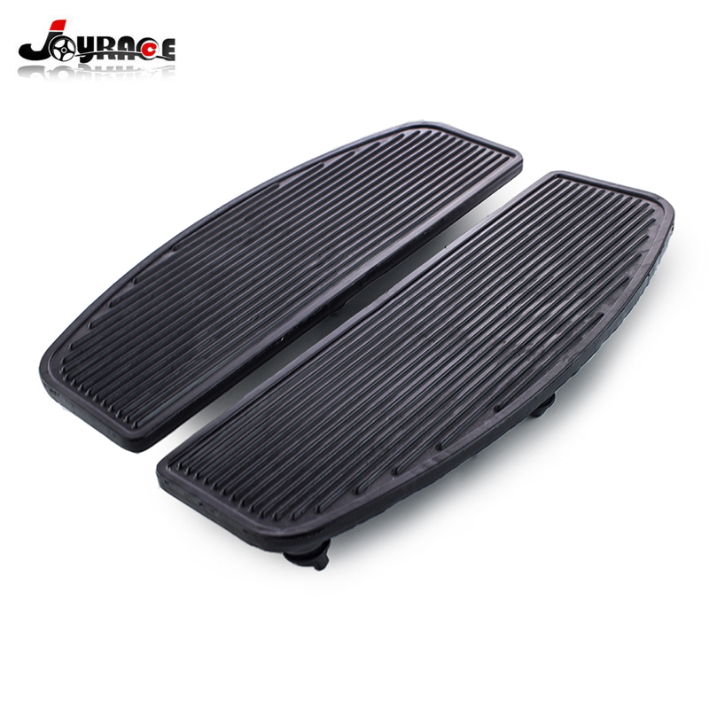 Motorcycle Front Rubber Rider Insert Floorboard Footpeg Footrest Pad Footboard For Harley Touring Road King Electra Street Glide недорго, оригинальная цена