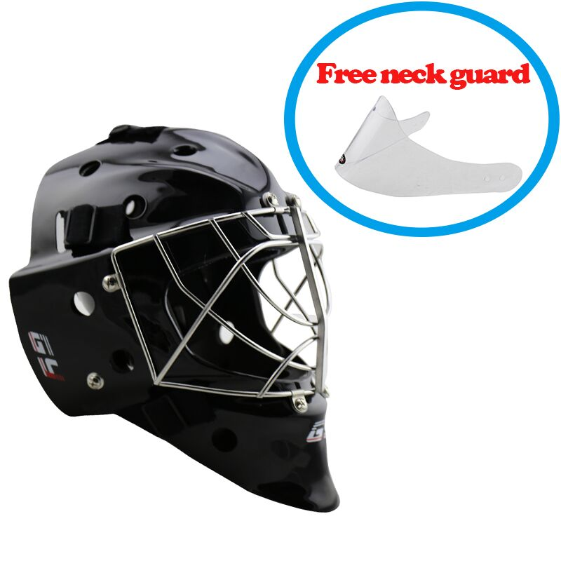 Professional CE certificate Black/White Ice Hockey Goalie ...