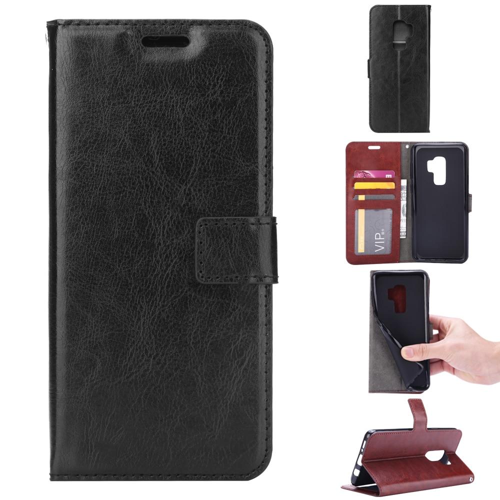 S9plus Case PU կաշվե ծածկը Samsung Galaxy S8 S9 S 8 Plus - Բջջային հեռախոսի պարագաներ և պահեստամասեր - Լուսանկար 6