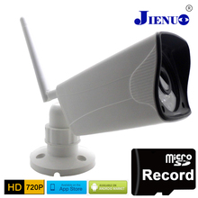 Ip Camera 720p Wifi HD Support Micro SD slot Waterproof CCTV Security Wireless Mini P2P Outdoor Infrared IR Network home CAM evolylcam 1mp 720p wired micro sd tf card slot ip camera network alarm onvif p2p cctv security ir cut bullet cam surveillance