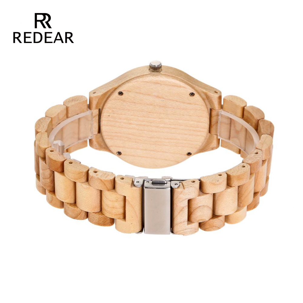 REDEAR Pine Wooden Quartz Watch Season Gift Edition - Әйелдер сағаттары - фото 4