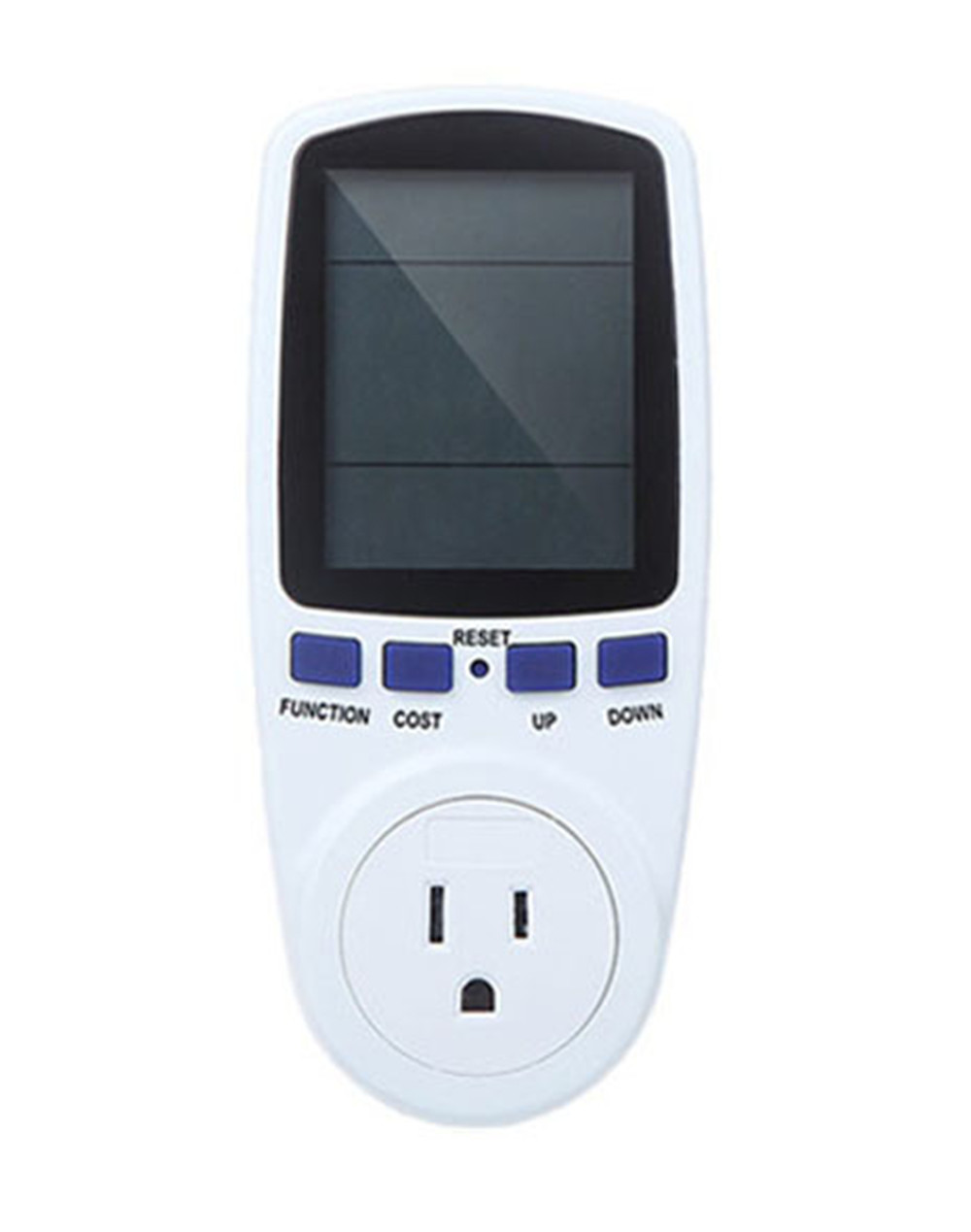 Outlet Wattage Meter : Us plug digital energy meter german type power