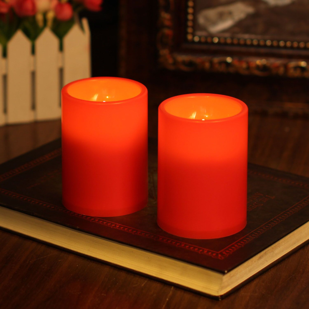 led candles with waterproof party - Flameless Candles With Timer