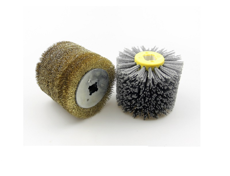 New 2pcs set Wood Furniture Grinding Polishing Wheel Brush Wheel Sander Set for Hand Held Burnishing