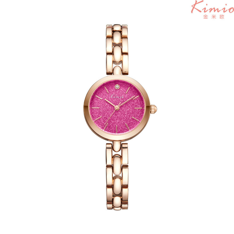 KIMIO Korean Fashion Luxury Women Quartz Casual Bracelet Watch Waterproof Ladies Girl Students Dress Clock Relogio with Gift Box kimio new fashion leather strap women quartz casual bracelet watch clock female ladies girl dress wristwatch relogio and box