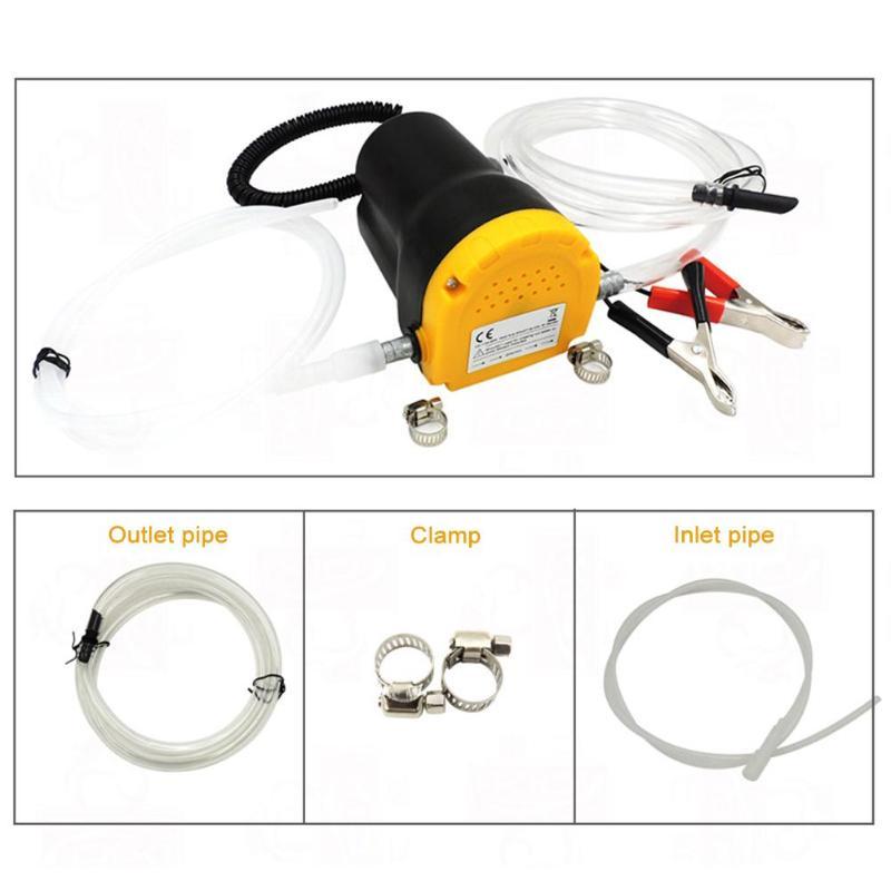 60 W 12 V/24 V Auto Elektrische Tauch Pumpe Flüssigkeit Öl Ablauf Extractor für RV Boot ATV Rohre lkw