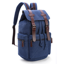 Men Canvas Backpack Mochila School Bags For Teenagers Men Bags Canvas Laptop Computer Bag Male Travel Luggage Packing  Bag стоимость