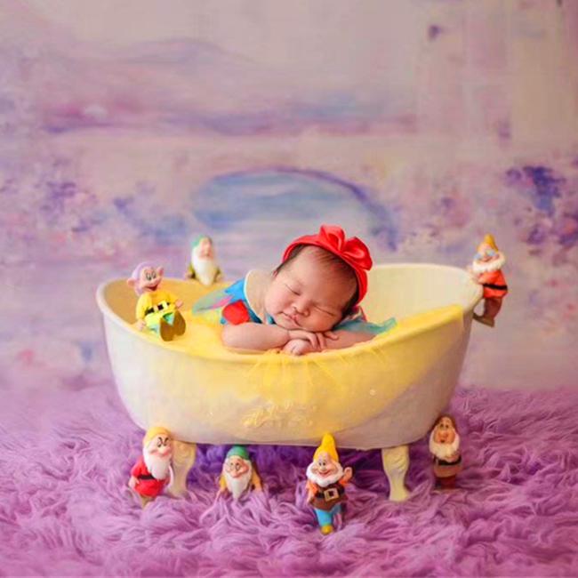 Adereços de fotografia para recém-nascidos, banheira do bebê, adereços para fotografia, sofá, cesta de chuveiro, acessórios
