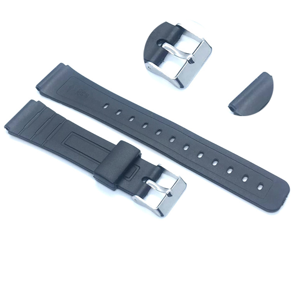 16mm 18mm 20mm Bracelet Silicone Rubber Bands For casio Wristwatches EF Replace Electronic Wrist Watch Band Watch sports Straps цена