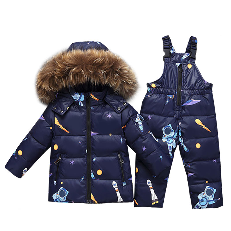 2018 Winter Warm Down Jacket For Baby Girl Clothes Child Clothing Sets Boys Parka Real Fur Coat Kids Snow Wear Infant Overcoat 30 degree russia winter warm down jacket for baby girl clothes children clothing sets boys parka real fur coat kids snow wear