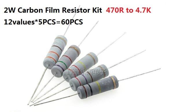 SMD 1206 5/%. 3R9 50 x Resistencia 1//4W Carbón Film 3,9 Ohm