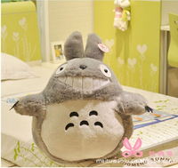 90 cm On sale Japan anime soft plush toys big My Neighbor Totoro gift free shipping 17cm 130cm
