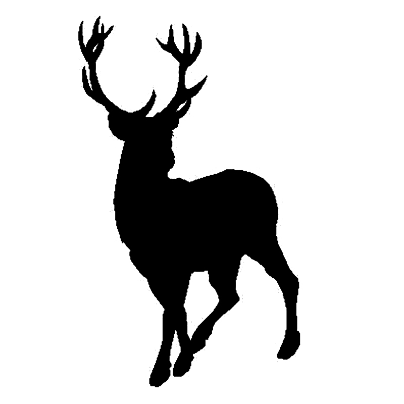 Deer Decal Car Sticker Fashion Personality Creativity Classic Attractive Car Sticker image