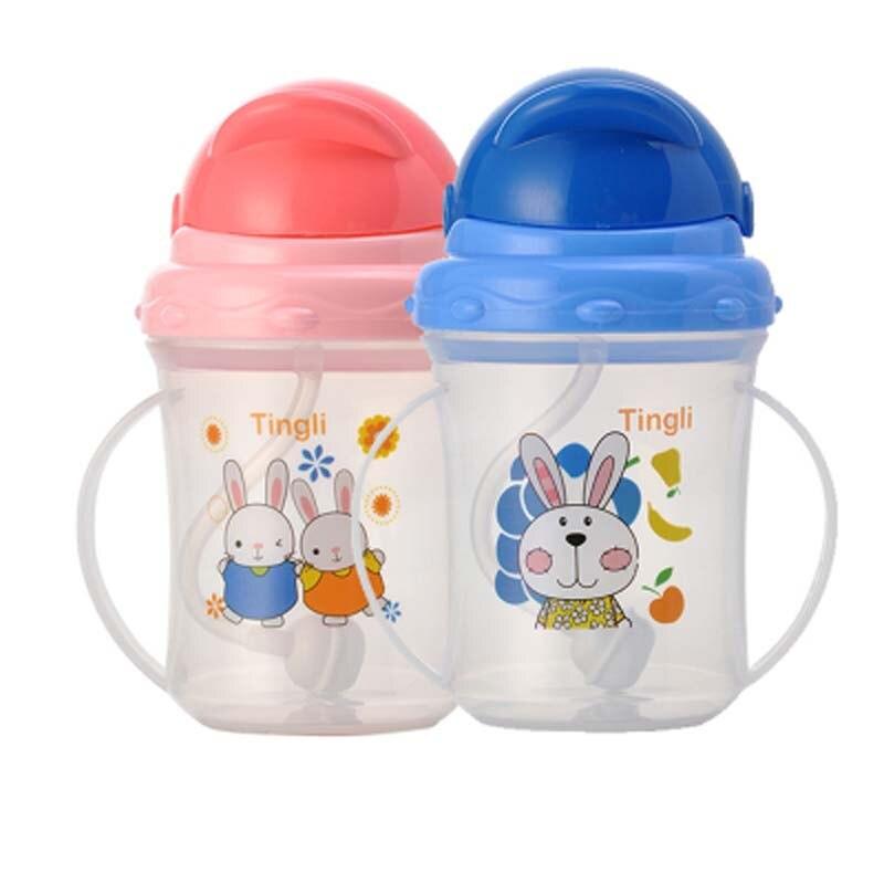 Fütterung Einfach Nette Baby Tasse Kinder Kinder Lernen Fütterung Trinkwasser Griff Flasche Mamadeira Ausbildung Tasse Baby Fütterung Tasse Mutter & Kinder