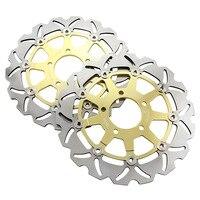 Мотоцикл Передние плавающие тормозные диски для тормозного диска для Suzuki SV650 SV650S GSX600F GSF650/GSF650S BANDIT GSX750F золото