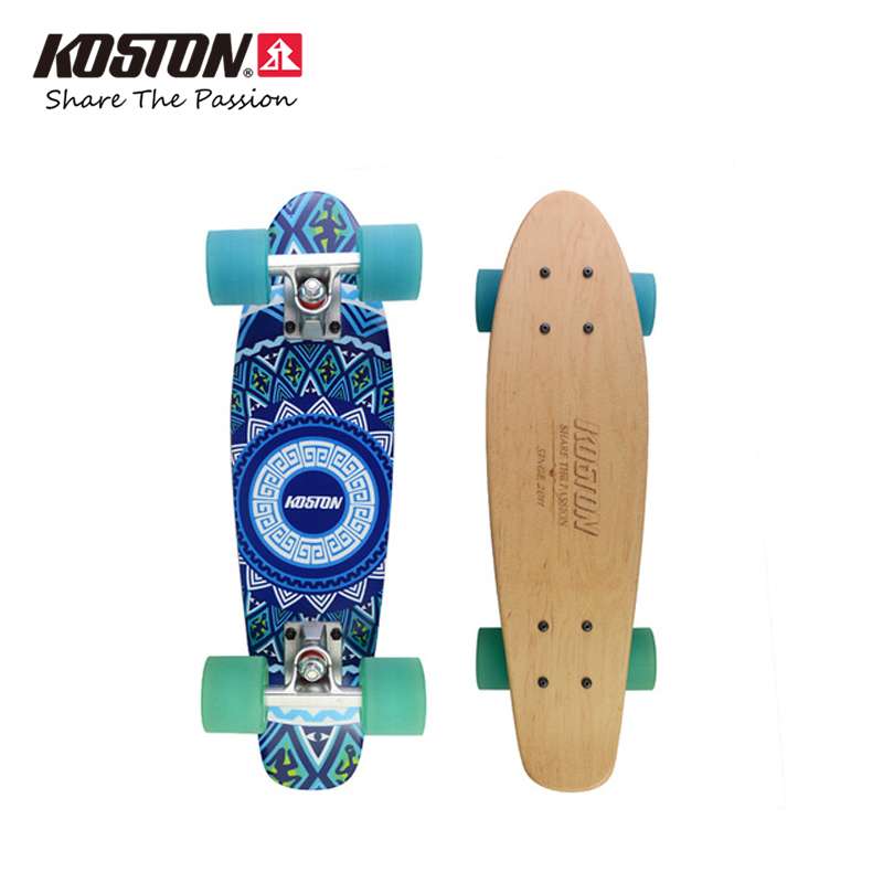 Koston Professional Skateboard Completes Cruising Skateboard 23inch Mini Size 7ply Canadian Maple High Quality Skateboard Set 8 inch new arrived chocolate decks simple logo pattern made by canadian maple wood shape skateboard deck for pro sk8er