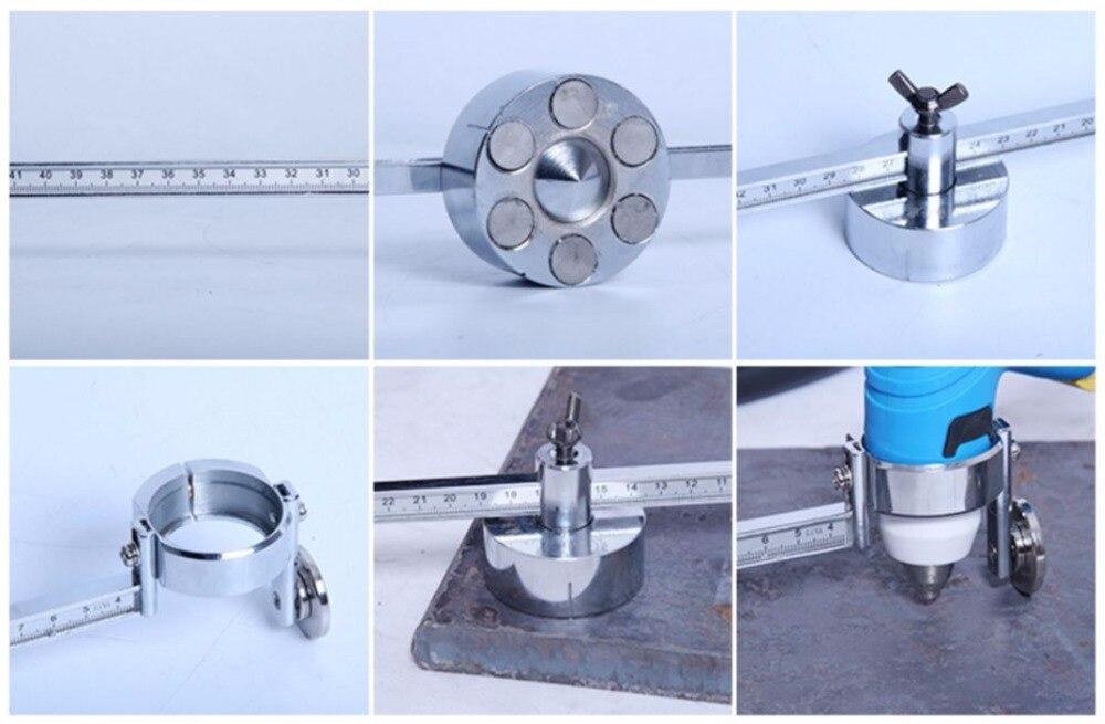 Compass Plasma Cutting Circle Round Cutter PT 31 LGK 40 Torch Circinus Roller Guide Wheel Stainless
