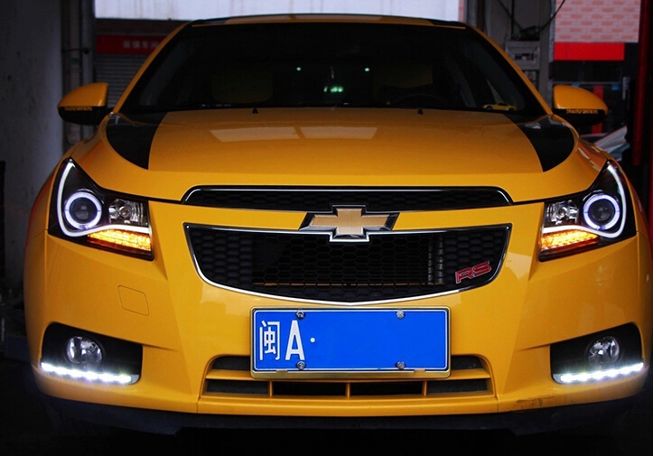 led drl daytime running light for Chevrolet cruze top quality super bright fast shipping top quality guiding light design led drl daytime running light for citroen c5 2013 2014 super bright fast shipping