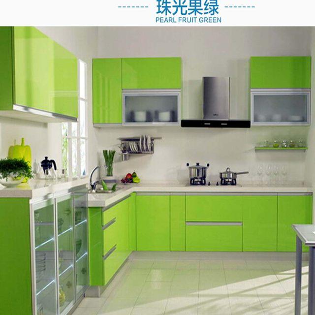 Tienda Online Gabinete de cocina auto-adhesivo etiqueta papel ...
