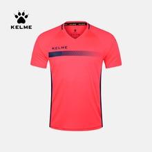 KELME futebol autêntico camisa fato de treino roupas competição de manga curta dos homens feitos sob encomenda K16Z2003