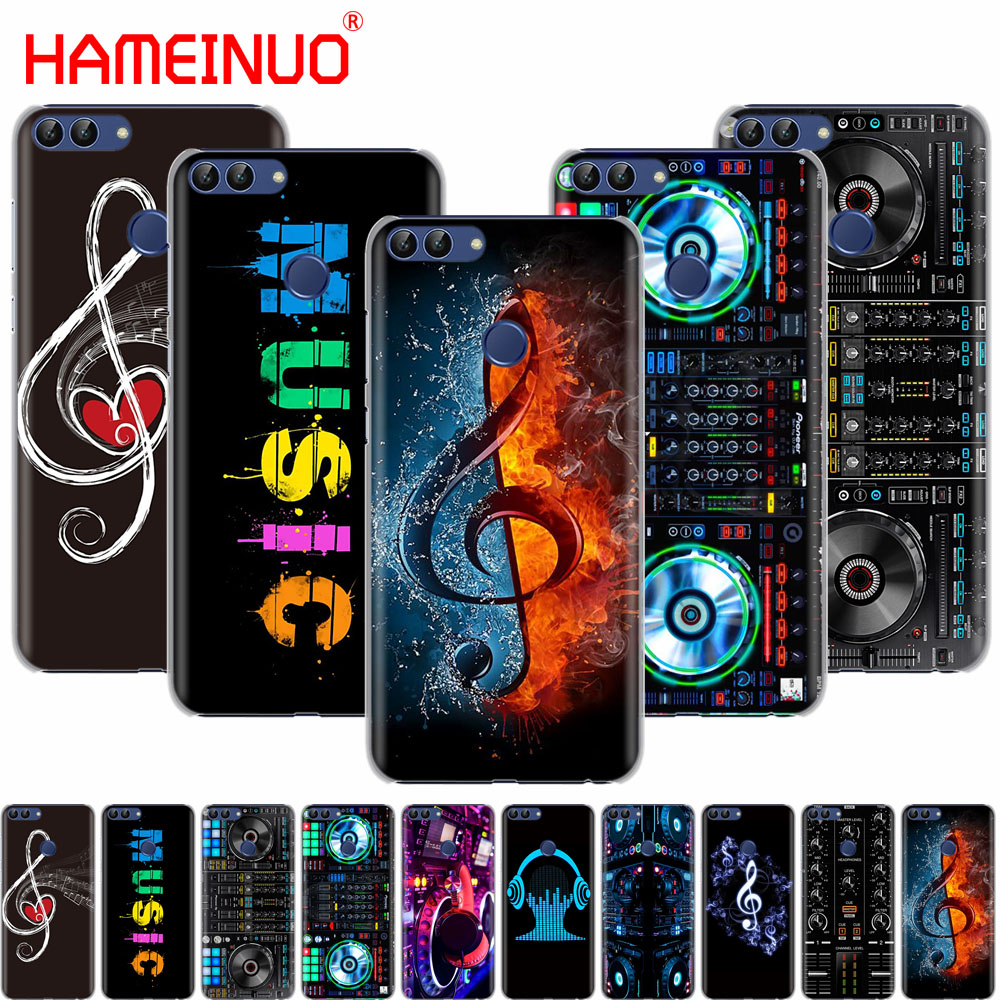 HAMEINUO ddj dj music cell phone Cover Case for huawei Honor 7C Y625 Y635 Y6 Y7 Y9 2017 2018 Prime