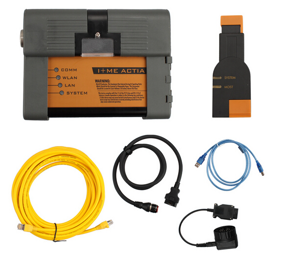 New For Bmw ICOM A2+B+C Diagnostic For & Programming Tool With Software For 2019.12 ICOM A2 Second Generation Of ICOM DHL Free