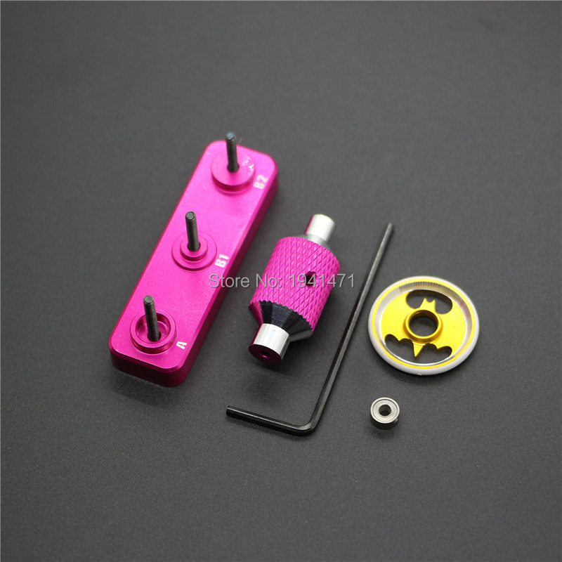 RFDTYGR Mini 4wd Tool For Assembling And Removing Ball Bearing Self-madParts For Tamiya MINI 4WD Professional ToolJ007 1Pcs/lot