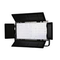 Falcon Eyes 2pcs/lot 100W Dimmable LCD Studio Light Panel LED Video Light DMX512 LED photo lighting LP 2005TD