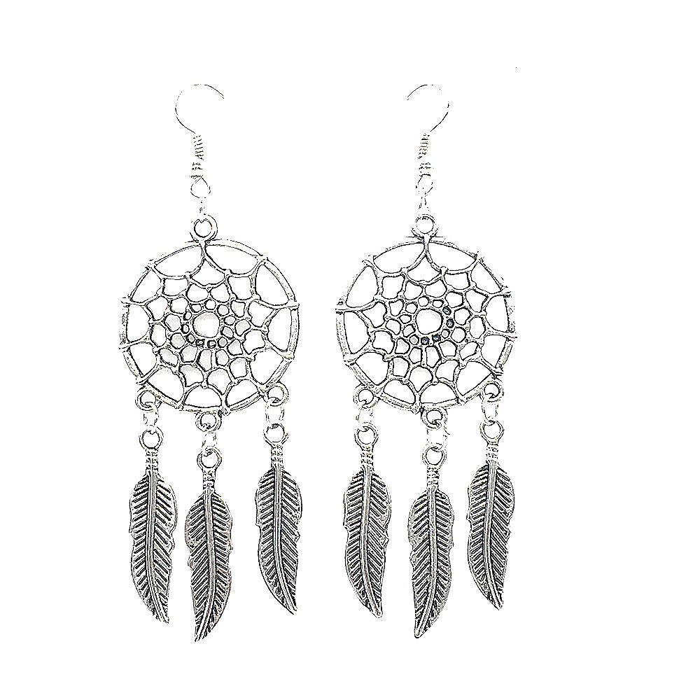 Free Shipping New Dream Catcher Dream Catcher Earrings Feather Earrings  Hot(china (mainland)