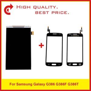 "Image 1 - 4,5 ""Für Samsung Galaxy G386 G386F G386T LCD Display Mit Touch Screen Digitizer Sensor Panel Pantalla Monitor"
