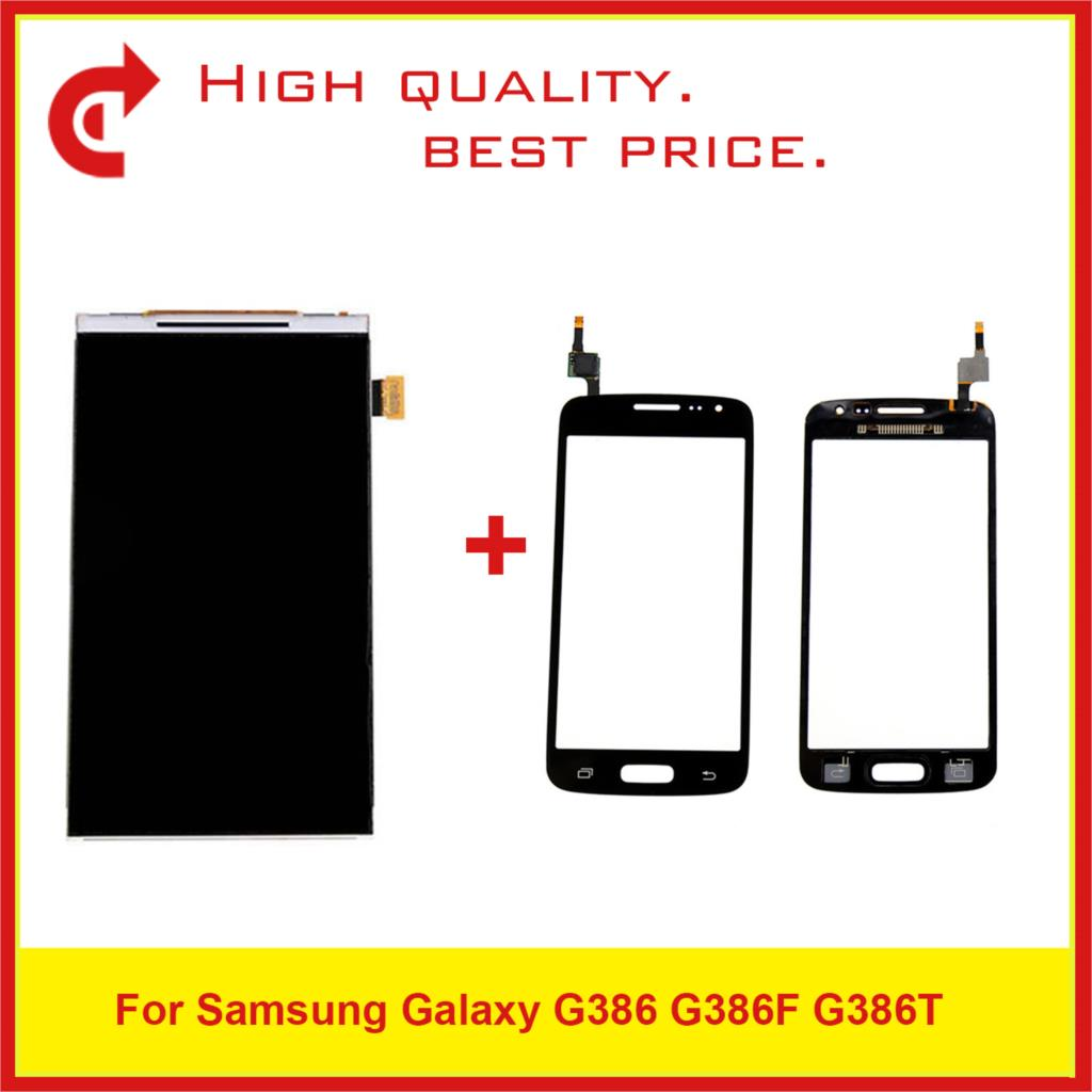 """4.5"""" For Samsung Galaxy G386 G386F G386T LCD Display With Touch Screen Digitizer Sensor Panel Pantalla Monitor-in Mobile Phone LCD Screens from Cellphones & Telecommunications"""