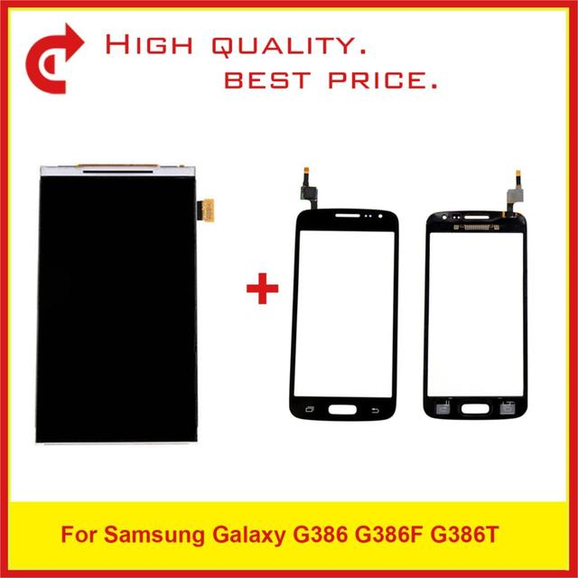 """4.5"""" For Samsung Galaxy G386 G386F G386T LCD Display With Touch Screen Digitizer Sensor Panel Pantalla Monitor"""