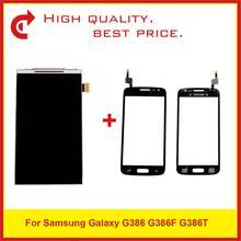 """4.5 """"עבור Samsung Galaxy G386 G386F G386T LCD תצוגה עם מסך מגע Digitizer חיישן פנל Pantalla צג"""