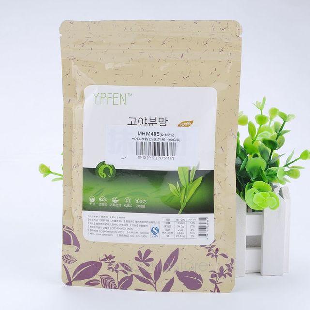 Premium 100g Japanese Matcha Green Tea Powder 100% Natural Organic Slimming Tea Reduce Weight Loss Food