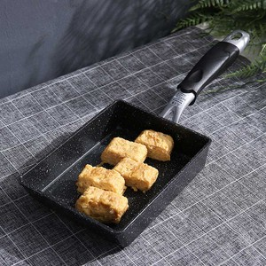 Image 5 - TEENRA Aluminium Alloy Fried Eggs Pans Mini Square Non Stick Japanese Style Frying Pan Fried Eggs Pans Maker Breakfast Pot
