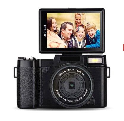 FULL hd 24 mega pixels DSLR camera/270 degree rotation 3.0'' TFT display digital camera free shipping