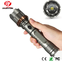 PANYUE LED Rechargeable Flashlight XML T6 Torch 1000 lumens 18650 Battery Outdoor Camping Powerful Led Flashlight panyue led flashlight xml t6 lantern torch 1000 lumens outdoor camping powerful tactical led flashlight torch waterproof