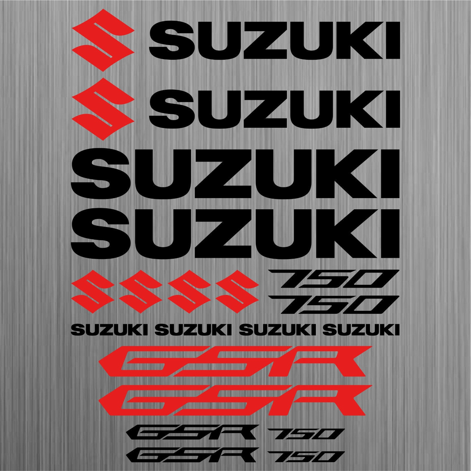 For Suzuki Gsr 750 Aufkleber Sticker Motorrad Motorcycle 18