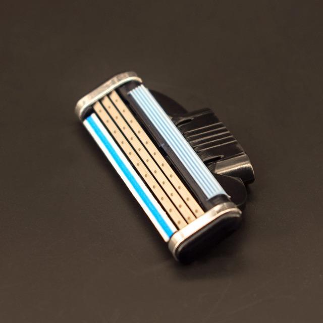 20pcs/set Brand High Quality GradeAAA+ Face Care Safety Razor Blades Shaving Razor Blades For Men Mache 3 Standard for RU&Euro