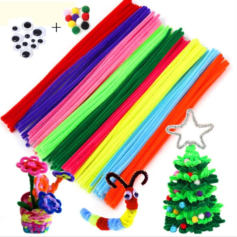 100pcs/lot Colorful Balloon Diy Handmade Sticks Art Decoration Different Simulation Plush Animal Toy For Children Christmas Gift